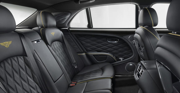 Bentley Mulsanne interjeras