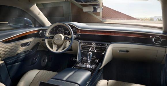 Bentley Flying Spur interjeras