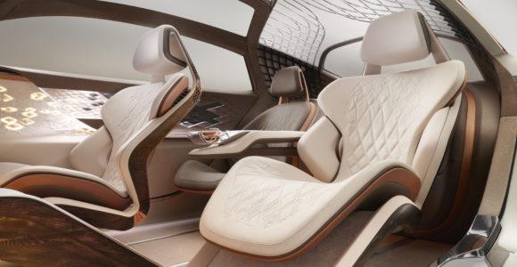 Bentley EXP 100 GT interjeras